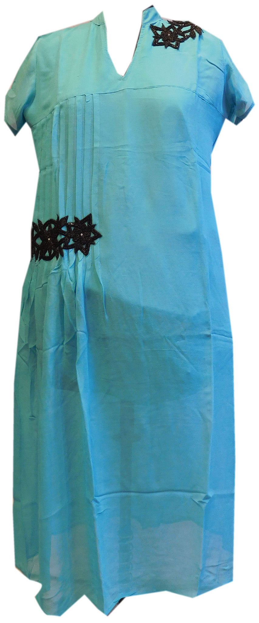 Blue Stylish Georgette Kurti