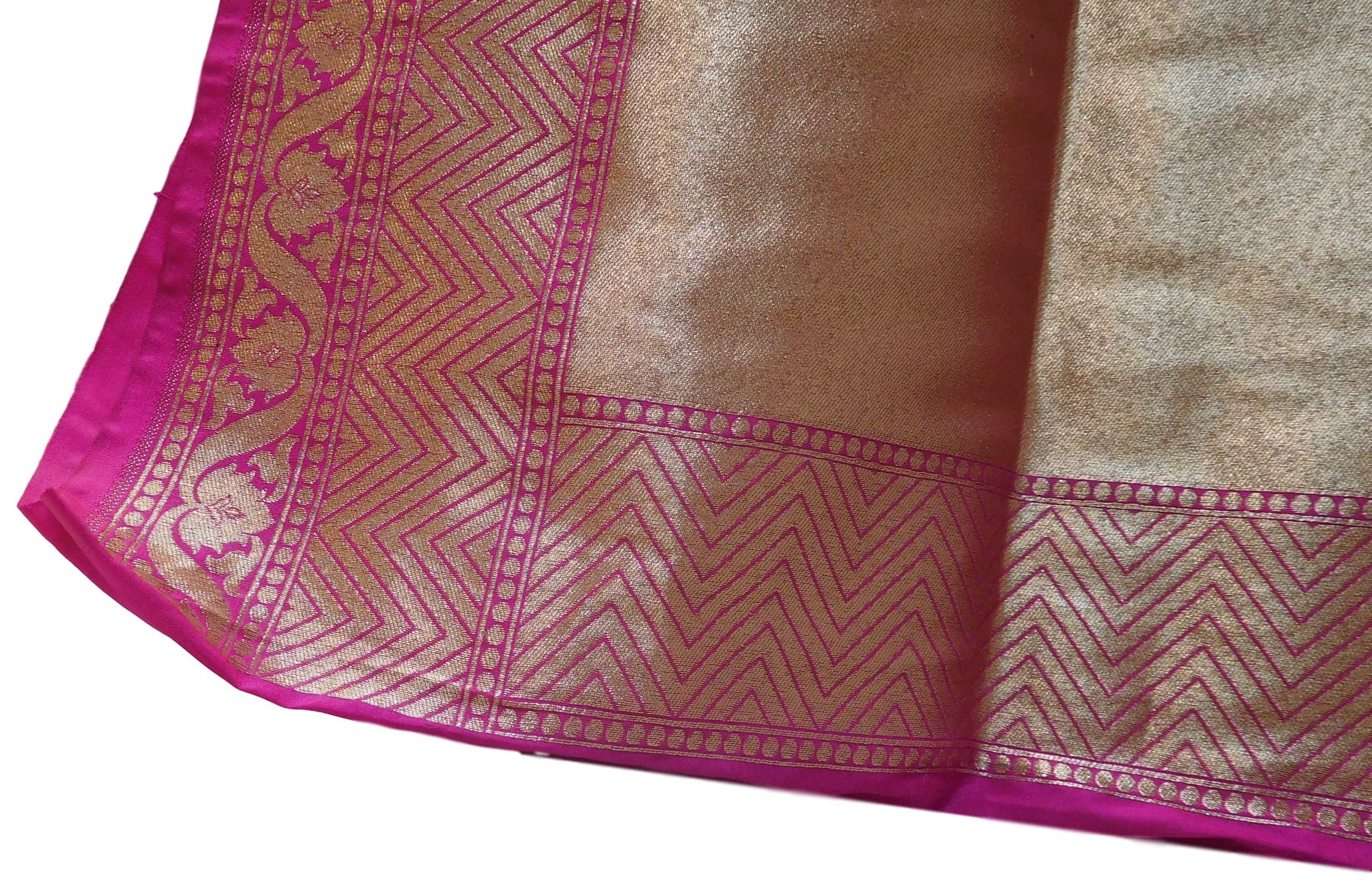 Wine Traditional Designer Bridal Hand Weaven Pure Benarasi Zari Work Saree Sari With Blouse
