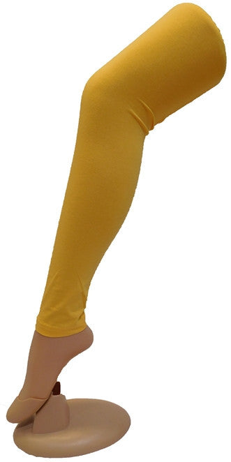 Mustard Solid Leggings