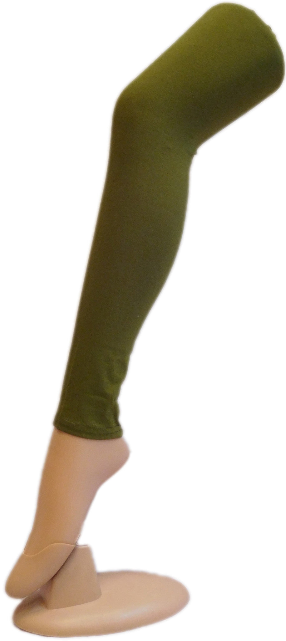 Mehndi Green Solid Leggings