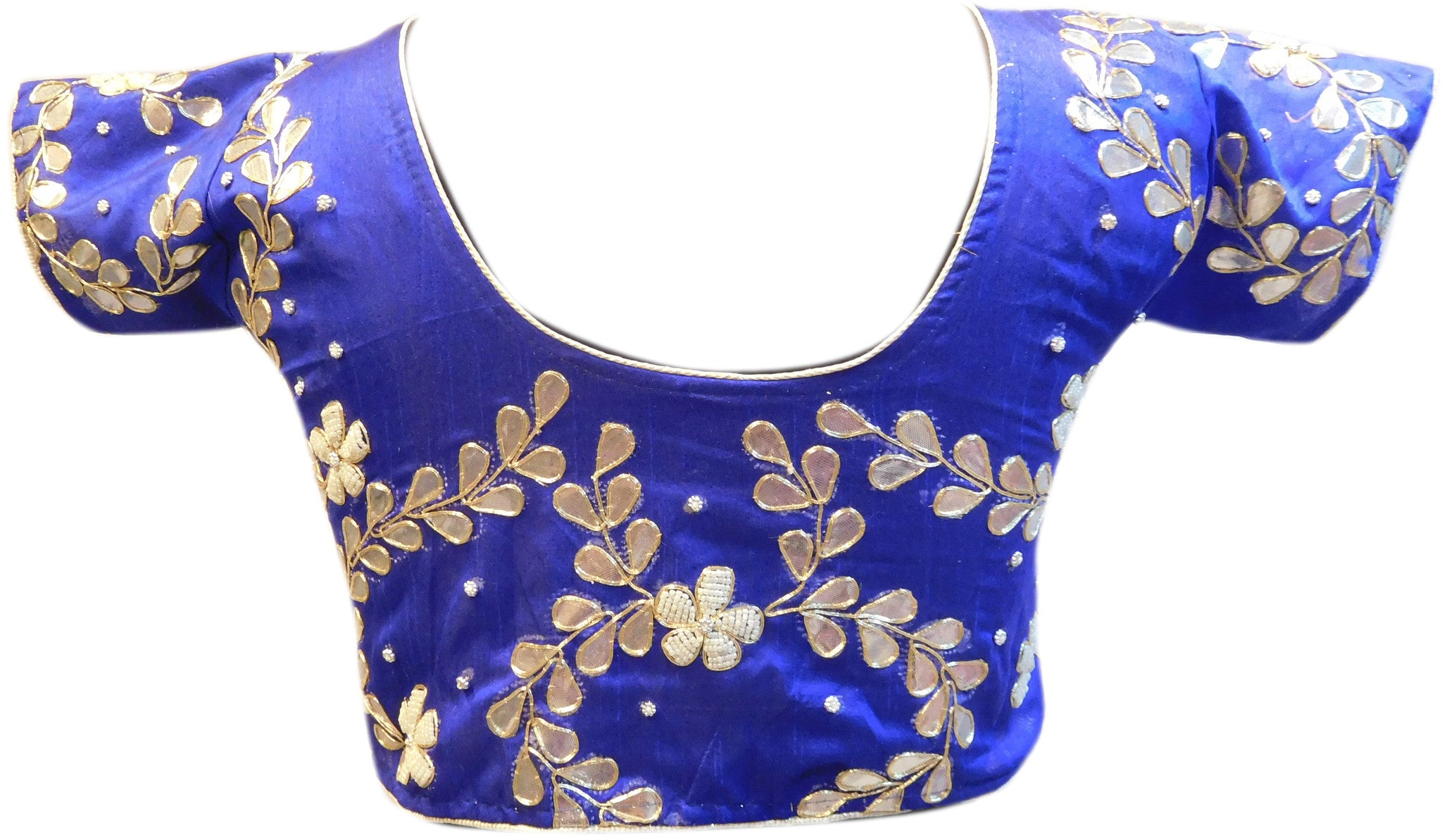 Blue Designer Gota Work Blouse