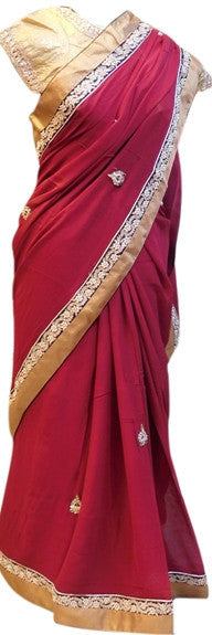 Merron Designer Saree With Stylish Blouse