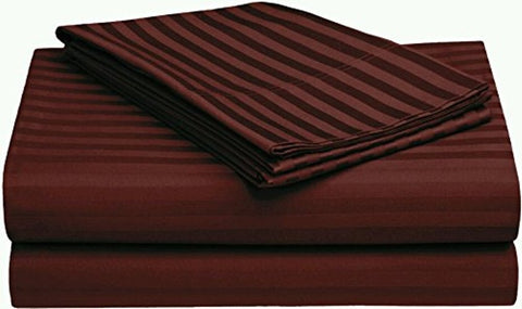 Plum Red Pure Cotton Double Bed Bedsheet