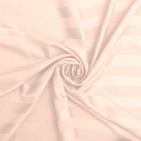 Light Peach Pure Cotton Double Bed Bedsheet