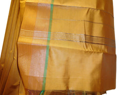Yellow Designer Bridal Hand Weaven Pure Benarasi Zari Work Saree Sari With Blouse