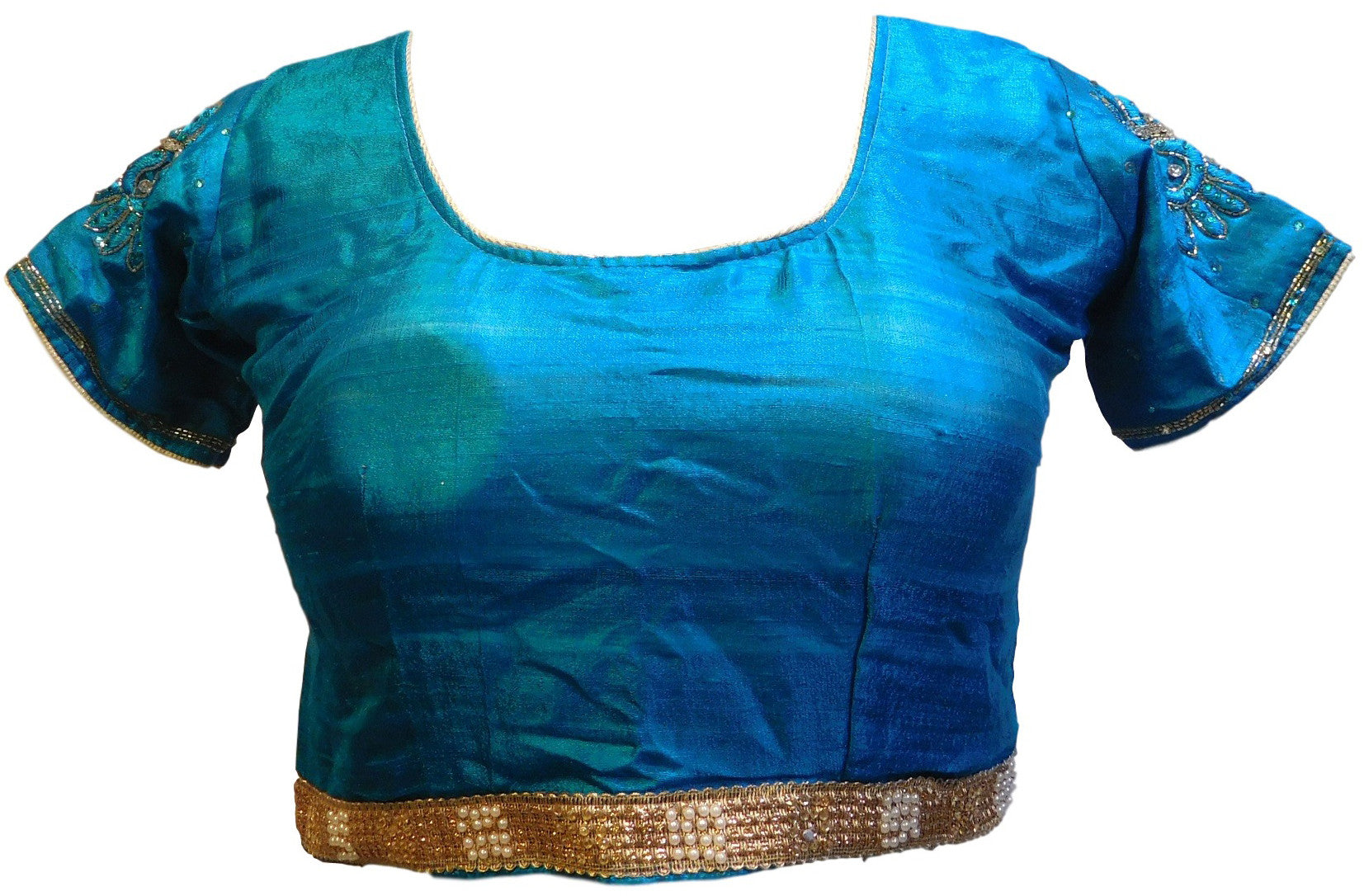 Blue Designer Blouse