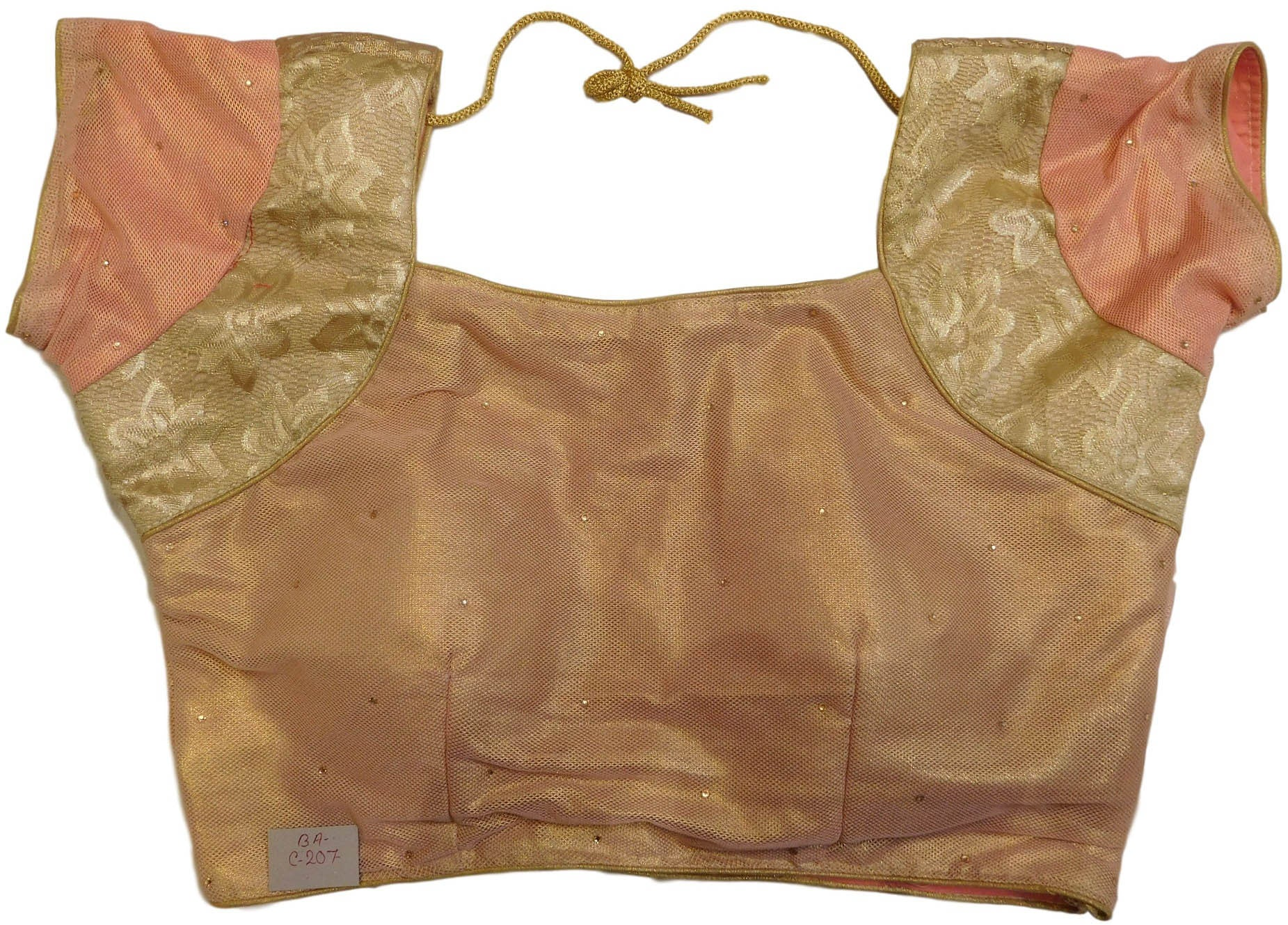 Golden Designer Blouse