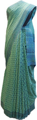 Multicolor Designer Wedding Partywear Pure Crepe Hand Brush Reprinted Kolkata Saree Sari RP09