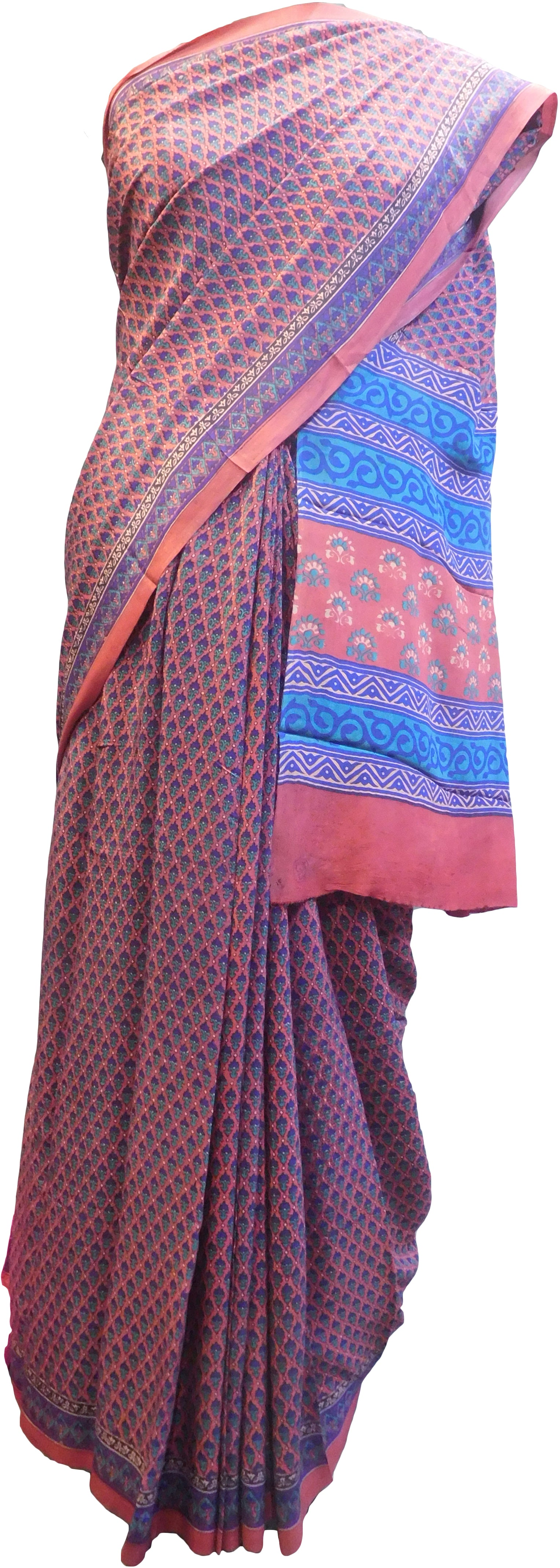Multicolor Designer Wedding Partywear Pure Crepe Hand Brush Reprinted Kolkata Saree Sari With Blouse Piece  RP279