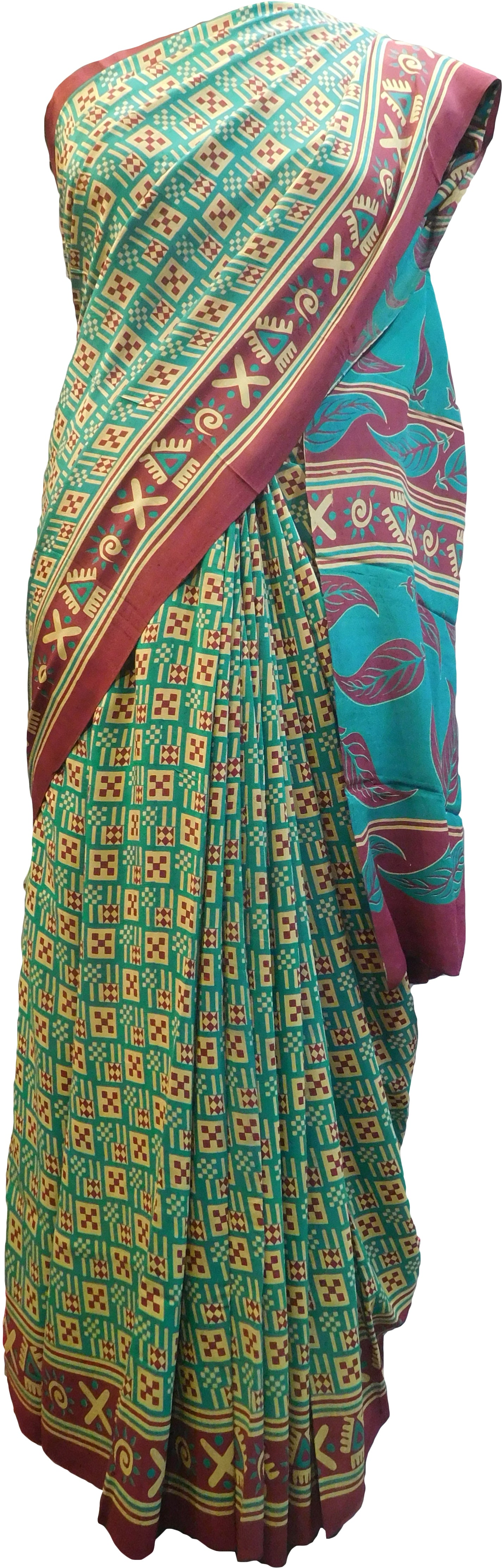 Multicolor Designer Wedding Partywear Pure Crepe Hand Brush Reprinted Kolkata Saree Sari With Blouse Piece  RP284