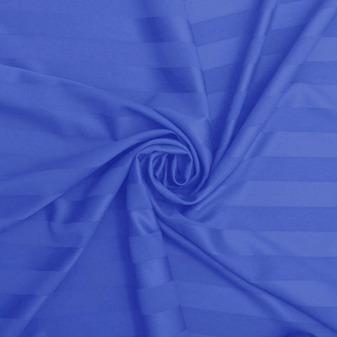 Royal Blue Pure Cotton Double Bed Bedsheet