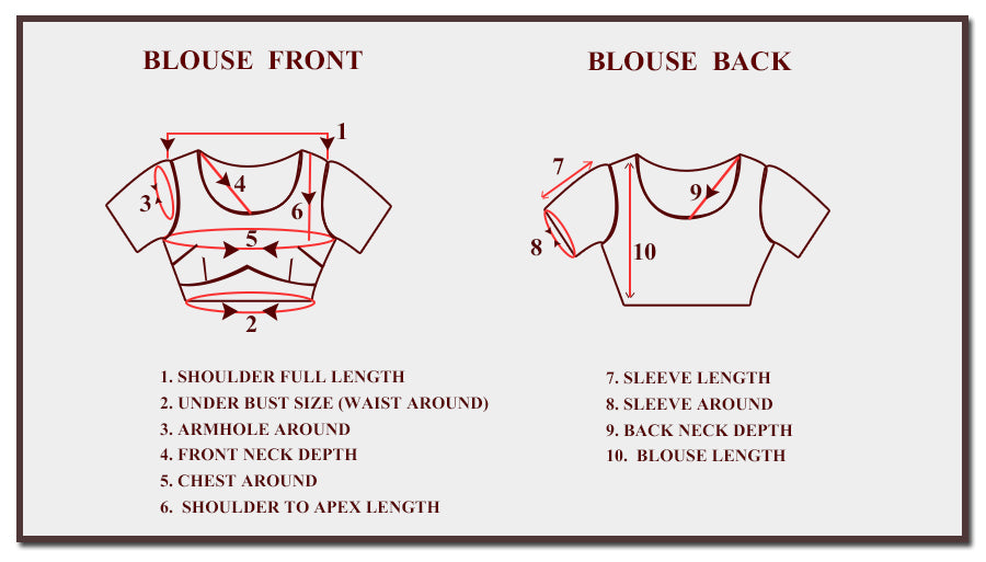 Blouse Stitching