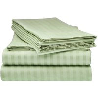 Pista Green Pure Cotton Double Bed Bedsheet
