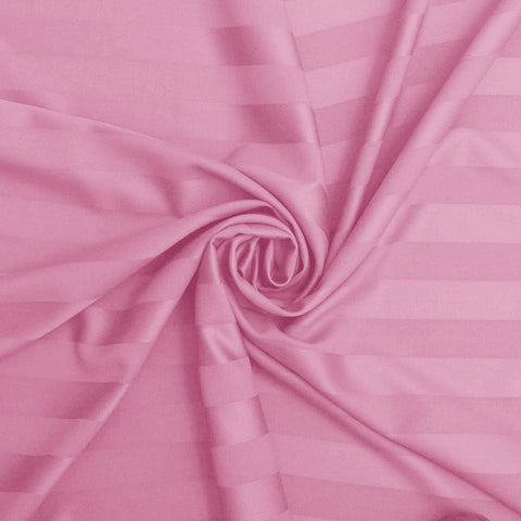Light Pink Pure Cotton Double Bed Bedsheet