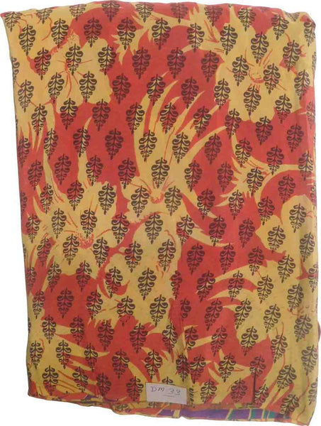 SMSAREE MultiColor Designer Wedding Partywear Pure Crepe Hand Brush Reprinted Unstitched Dress Material DM33