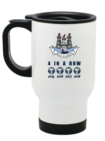 "Dublin GAA ""Four In a Row"" Travel Mug"