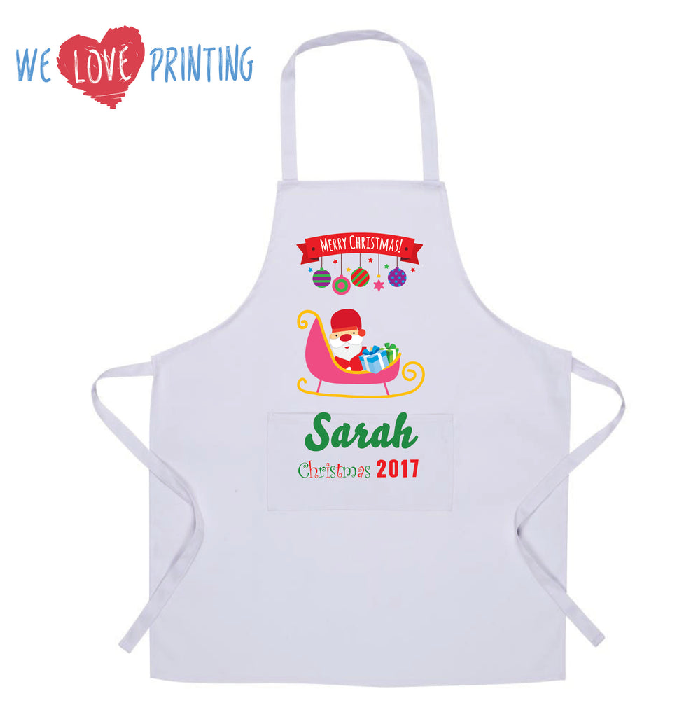 Personalised Christmas Aprons (Child)