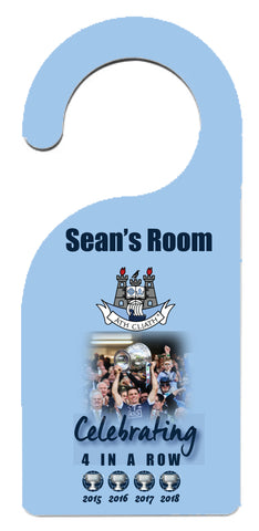 "Dublin GAA ""Four In a Row"" Door Hanger"