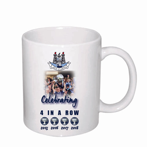 "Dublin GAA ""Four In a Row"" Mug"