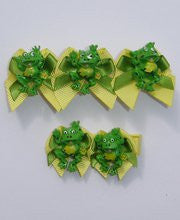 Froggie Baby Girls Hair Bow--Carousel Wear