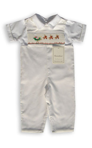 One free with a $100 purchase, Christmas boys Santa Claus longall--Carousel Wear