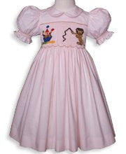 Hand smocked circus dress--Carousel Wear - 1