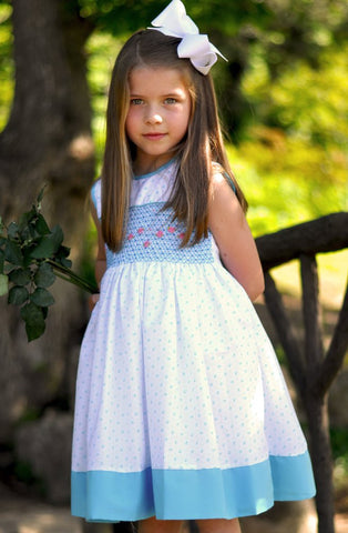 Girls Spring Summer Sleeveless Dress Marlee--Carousel Wear - 1
