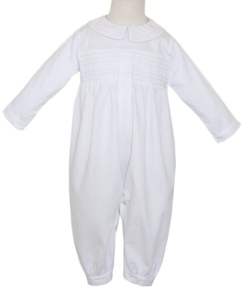 James Boys Christening Overalls--Carousel Wear - 1