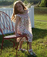 Baby Girl Summer Dress with Flowers Eva--Carousel Wear - 1