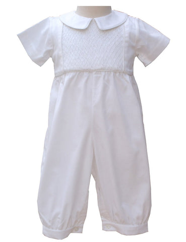 Aiden Boys Christening Suit Overalls--Carousel Wear