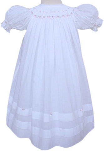 Angelic Girls White Bishop with Roses    SOLD OUT.--Carousel Wear - 2