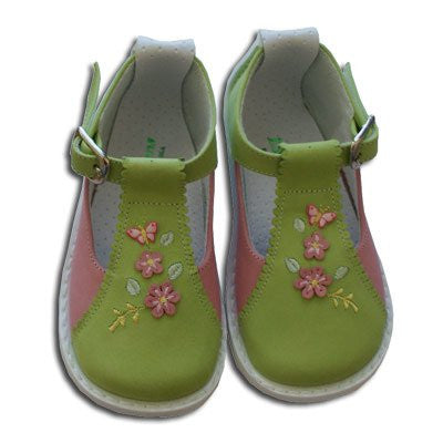 Baby Girls Leather Shoes--Carousel Wear - 1