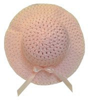 Girls Pink Easter Hat--Carousel Wear - 1
