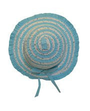 Girls Blue Easter Hat--Carousel Wear - 1