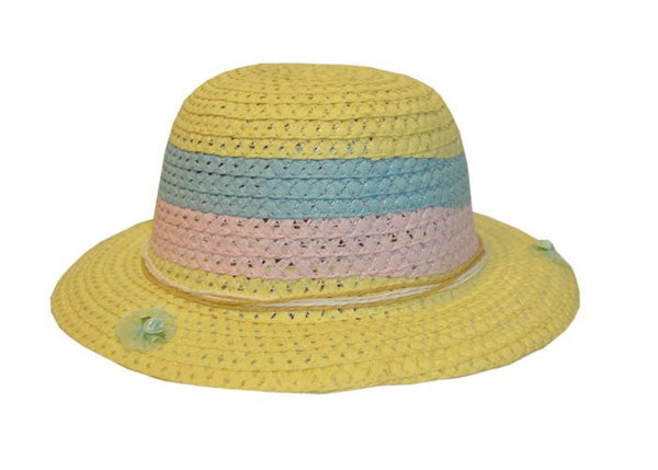 Girls Darling Yellow Easter Hat--Carousel Wear - 1