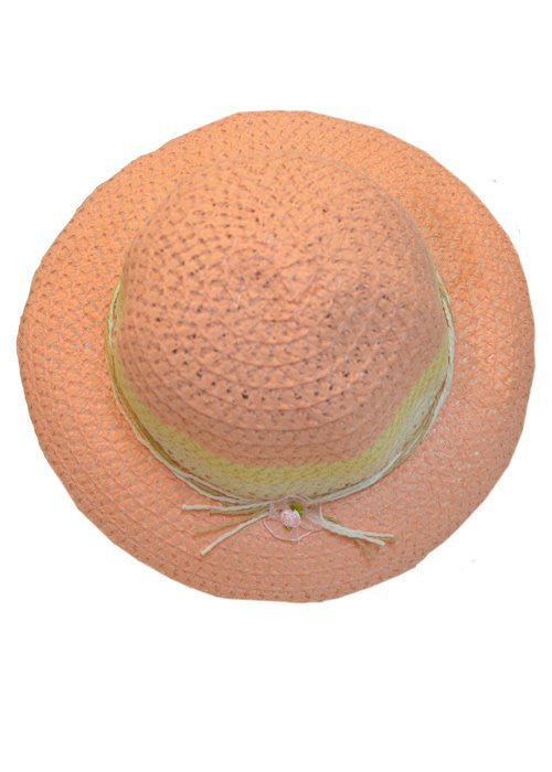 Peach Easter hat--Carousel Wear - 1