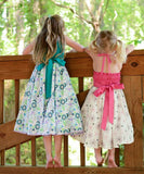Beautiful Girls Summer Party Dress with Ruffles Anny--Carousel Wear - 3