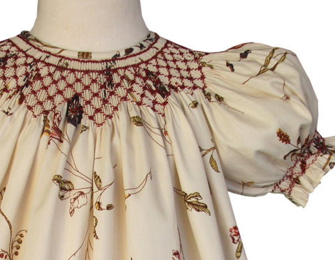 Jill is a Beautiful Fall and Thanksgiving Girls Dress--Carousel Wear - 2
