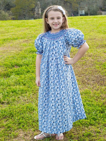 Girls Demure Bishop Dress--Carousel Wear - 1