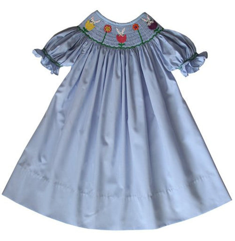 Selena Girls Easter bunny dress--Carousel Wear - 2