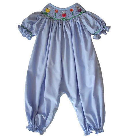 Girls Jennifer Easter bunny long bubble--Carousel Wear - 1