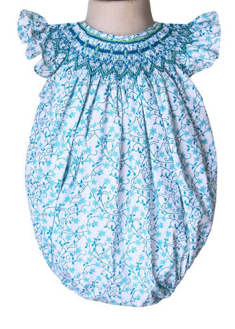 Baby Girls Angelina Shooting Stars Smocked Bubble--Carousel Wear - 2