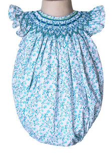 Baby Girls Angelina Shooting Stars Smocked Bubble--Carousel Wear - 1
