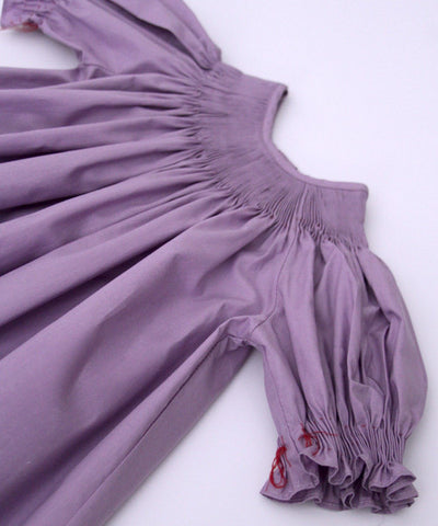 Ready to Smock your smocking plate Lavender Dress