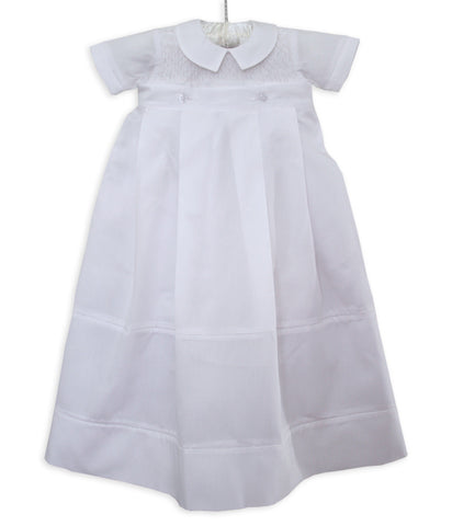 Paul Christening Dedication Boys Outfit Gown with Detachable Skirt--Carousel Wear - 2