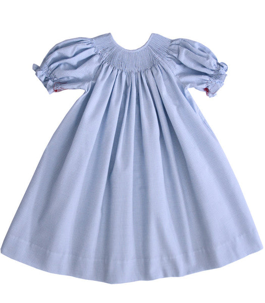 Girls Summer Ready to Smock Bishop Dress--Carousel Wear