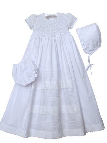 Heirloom Christening Gowns for Baby Girls
