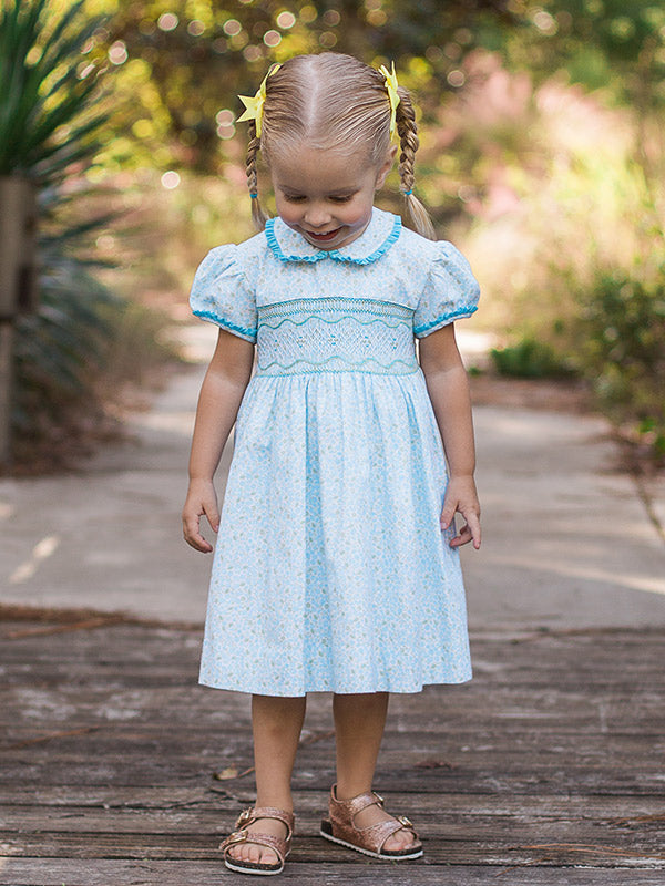 Baby Girls Hand Smocked Dresses