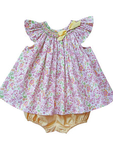 Baby Girls Spring Easter Smocked Bishop Dress