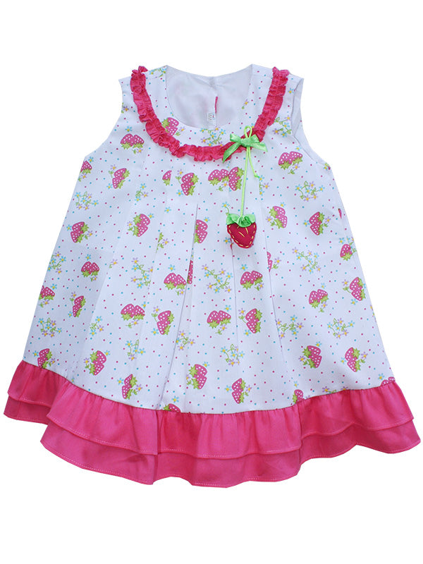 Baby Girls Strawberry Summer Dress